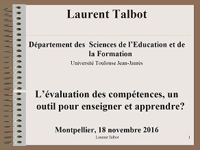 Stage évaluation Des élèves S3 Montpellier